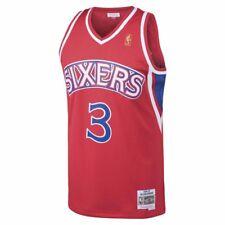 Allen Iverson Philadelphia 76ers Mitchell & Ness Swingman Jersey Red L