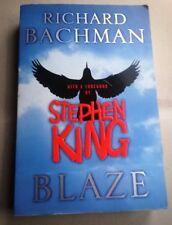 Stephen King  - Richard Bachman - Blaze - Lingua originale Prima edizione