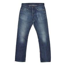 TOMMY HILFIGER Herren Hose W31 L34 blau HUDSON Straight Fit pants Jeans TOP