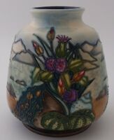 Fabulous Moorcroft Pottery Islay Vase Designed by Rachel Bishop