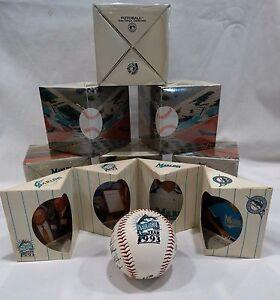 Florida Marlins 1993 Inaugural Year Limited- Edition Baseball with Box SEALED!!!