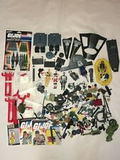 Vintage GI Joe Action Figures Accessories Vehicle Parts Pieces Storm Shadow Lot