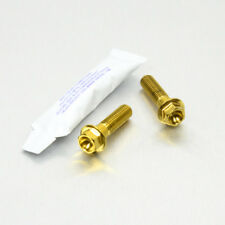 Pro-Bolt SS Clip On Bar Pinch Bolts Gold SSCLIPBAR40G Suzuki GSX-R750 SRAD 96-99