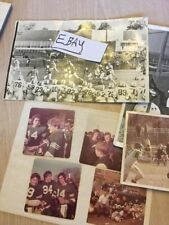 Vintage 1970's  East Brunswick High School Football Pictures  New Jersey