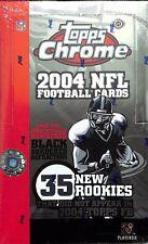 2004 Topps Chrome Football Sealed Hobby Box