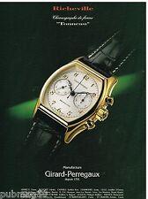 Publicité Advertising 1994 La Montre Richeville par Girard-Perregaux