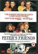 PETER'S FRIENDS - BRAND NEW DVD - FREE UK POST