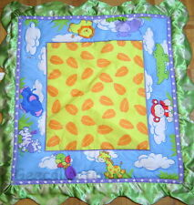 BABIES R US Jungle Turtle Monkey Zebra >>> Activity Gym Replacement Play Mat NEW
