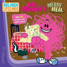 Mr. Messy's Messy Meal (Board book) New