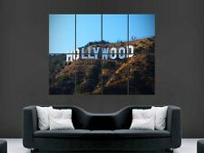 HOLLYWOOD firmare la USA GIANT POSTER WALL ART PICTURE PRINT GRANDE ENORME
