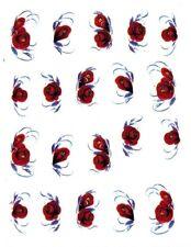 One Stroke Sticker, Blumen, Rose,Tattoo, Aufkleber  Nr.1404