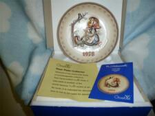 """Hummel Annual Plate 1978  """"Happy Pastime""""  NEW IN BOX"""