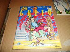 IL GRIFO ANNO I° n°5 COPERTINA ANDREA PAZIENZA - AGOSTO 1991