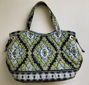 Vera Bradley Cambridge Sherry RETIRED Purse Travel Bag Pouch