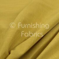 Weave Textured Chenille Material Yellow Upholstery Curtain Furnishing Fabrics