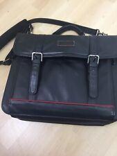 Targus Laptop Bag CL95 Premier Notebook Leather Case 15x12x6 Black