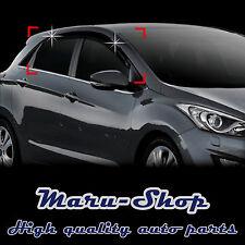 Smoke Door Window Vent Visor Deflector for 13~17 Hyundai Elantra GT
