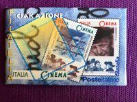 TESSERA FILATELICA 2002 KIT IL CINEMA ITALIANO  COMPLETO DA 2 TESSERE
