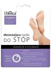 L'biotica Exfoliating Peel Foot Sock Mask 40ml  (Pack of 12)