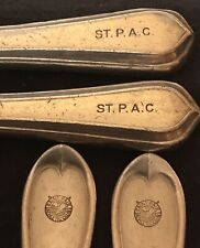 VINTAGE RESTAURANT / HOTEL SILVERWARE , ST. PAUL ATHLETIC CLUB ,2 KNIVES & FORKS