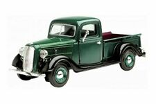 MOTORMAX 1:24 1937 37 FORD PICK UP TRUCK DIECAST GREEN 73233