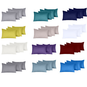 400 THREAD COUNT 100% EGYPTIAN COTTON HOUSEWIFE PILLOW CASES PACK OF 4