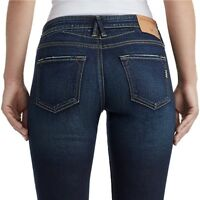 True Religion Women's Becca Bootcut The Perfect Stretch Jeans in Old School Navy
