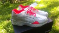 REEBOK AZTREK CLASSIC UK SIZE 12 ,CHALK AND NEON  NEW WITH RETRO 1993 DESIGN