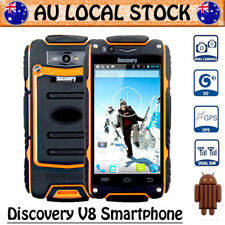 Orange Discovery V8 Unlocked Android Rugged 3G Smartphone Dual SIM Tough Mobile