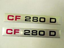 Pair  CF 280D Bedford Van Badge Inserts , FL15