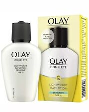 OLAY COMPLETE LIGHTWEIGHT DAY LOTION SENSITIVE 100ML BRAND NEW SEALED SALE