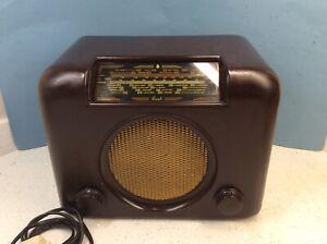 Excellent Bakelite Bush Radio DAC 90A. Working