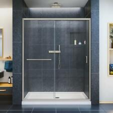 Custom Glass Shower Door Panels - Made To Bespoke Design, Sizes Or Measurements