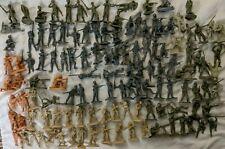 Huge BMC 54mm World War II 2 Plastic Miniature Soldier Lot - German USA Japan