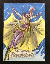 Cyrptozoic DC Comics Bombshell Batgirl Sketch #1/1 Marllon Sheep (BB 3)