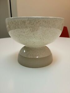 NWT Accent Decor Gera Compote Beige Bowls 7.5 inches by 5.75 inches