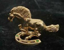 Beautiful Brass Horse Figure, Pretty Arts and Crafts from Peru