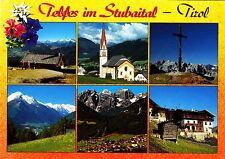 Telfes im Stubaital , Ansichtskarte , 1997 gelaufen