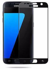 2x Samsung Galaxy S7 Panzerglas Full Screen Schwarz 9H Full Cover 3D Schutz
