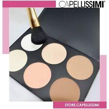 Blush Italia Paletta 6 Ciprie / Terra | Make Up Viso Cipria Estetica Trucco