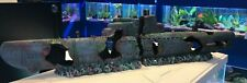 58cm Submarine 2 Piece Aquarium Fish Tank Sub Wreck Ornament 874