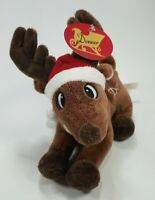 "NWT DASHER DanDee Collector's Choice 7"" PLUSH SEWN NAME  Rudolph Reindeer Movie"