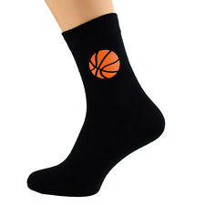 Basketball Design Mens Socks Fun Novelty UK Size 5-12 X6N107