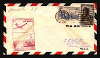 France 1939 FFC Marseille to NY - L3006