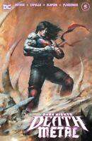 DARK NIGHTS DEATH METAL #5 LEE VARIANT NM BATMAN WHO LAUGHS ROBIN KING SUPERBOY