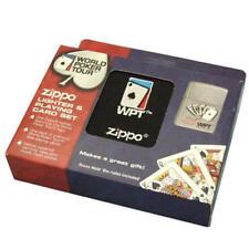 Zippo Lighter & Playing Card Set