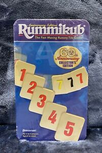 Rummikub 60th Anniversary Collectors Edition Rummy Tile Game Brand NEW Sealed
