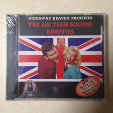 U.K. TEEN SOUND RARITIES -  BRAND NEW CD   34 TRACKS  RARE ROCKIN RECORDS LABEL