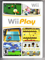 WiiPlay Original Console Games