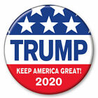 Trump Keep America Great 2020 Red White 3 Inch President Button Pin